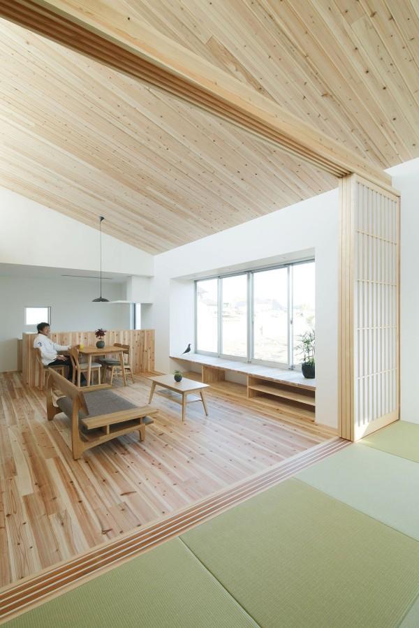 Ngôi nhà trệt phong cách Nhật Bản cho đôi vợ chồng trẻ - 04