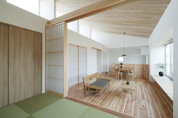 Ngôi nhà trệt phong cách Nhật Bản cho đôi vợ chồng trẻ - 07