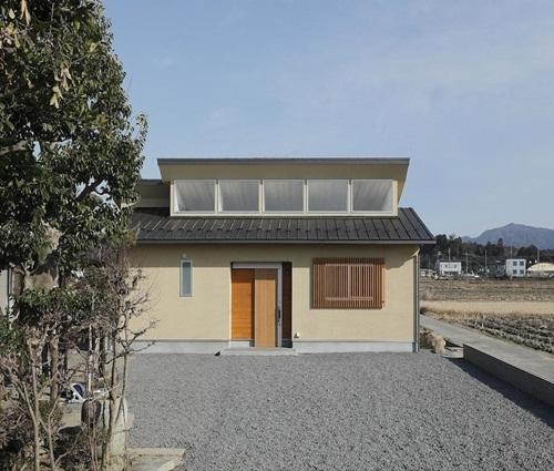 Ngôi nhà trệt phong cách Nhật Bản cho đôi vợ chồng trẻ