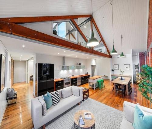 Ngôi nhà trệt đầy đủ tiện nghi của cặp vợ chồng trẻ