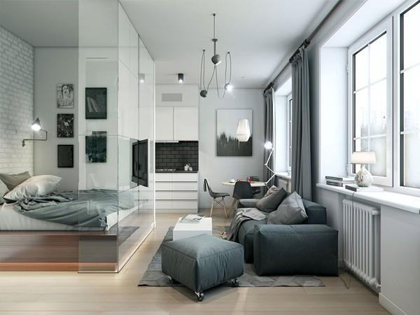 Ngôi nhà trệt diện tích 35m2 được thiết kế đầy nghệ thuật - 01
