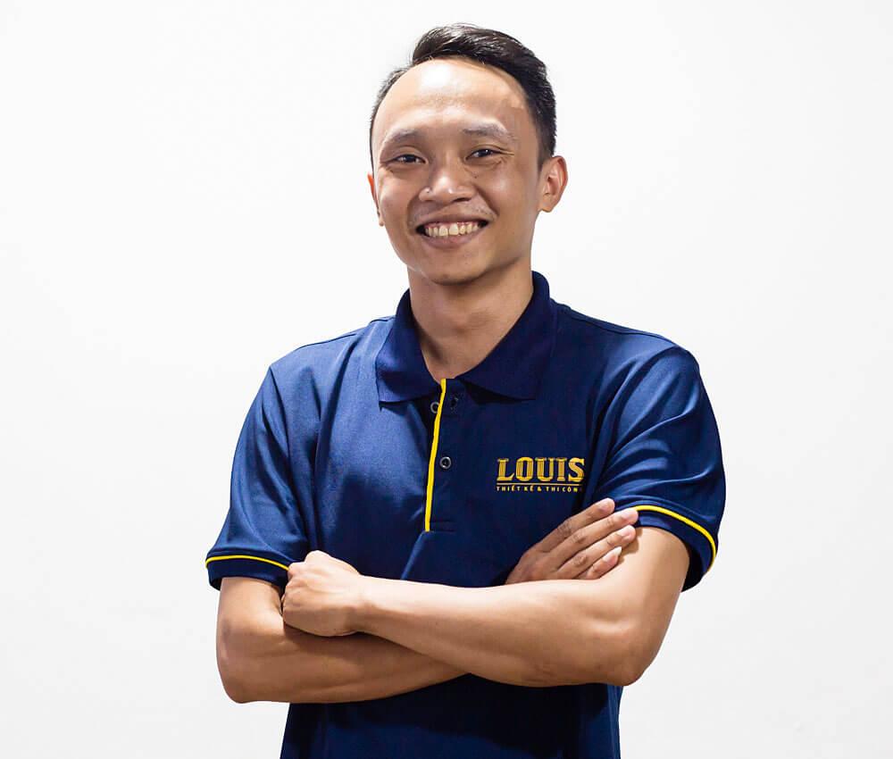Giám đốc xưởng thiết kế số 2 công ty LOUIS- Nguyễn Hữu Trọng