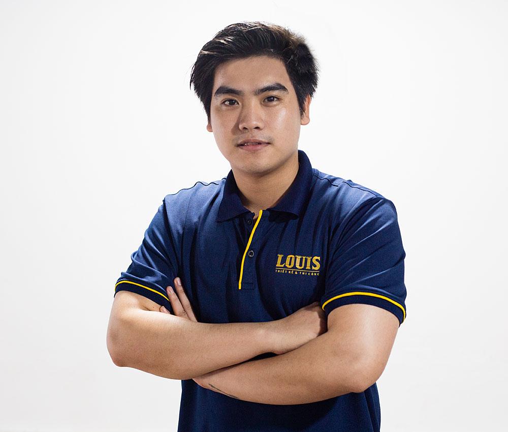 Giám đốc xưởng thiết kế số 4 công ty LOUIS- Nguyễn Thanh Huy