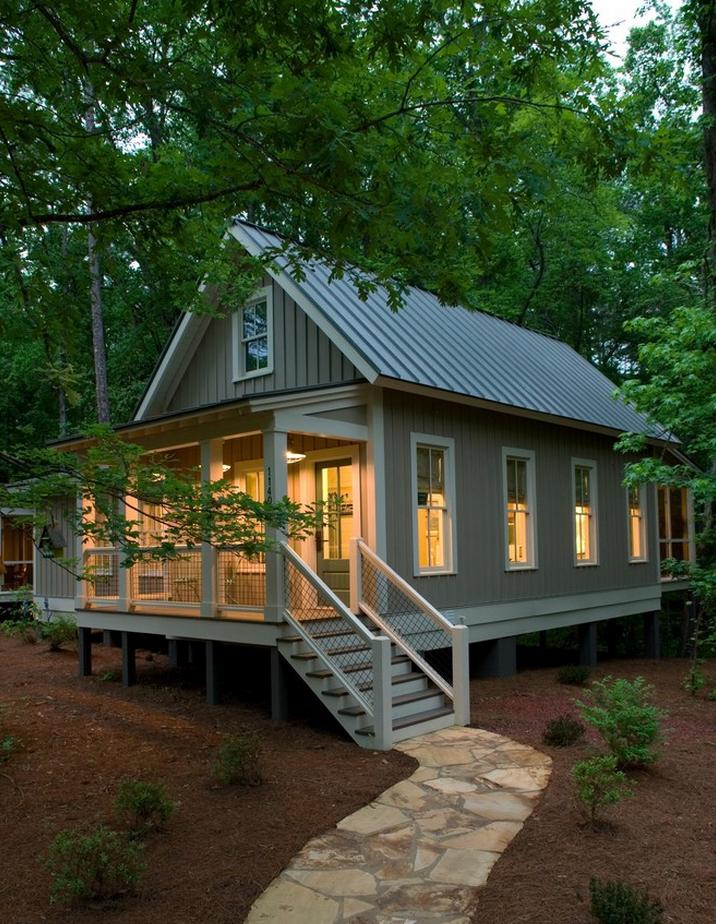 Nhà cấp 4 đẹp hiện đại, gần gũi với thiên nhiên