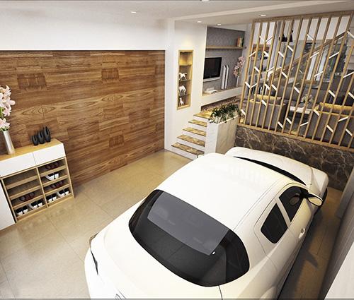 Thiết kế nhà lệch tầng đẹp hiện đại tại quận Tân Bình [Video]