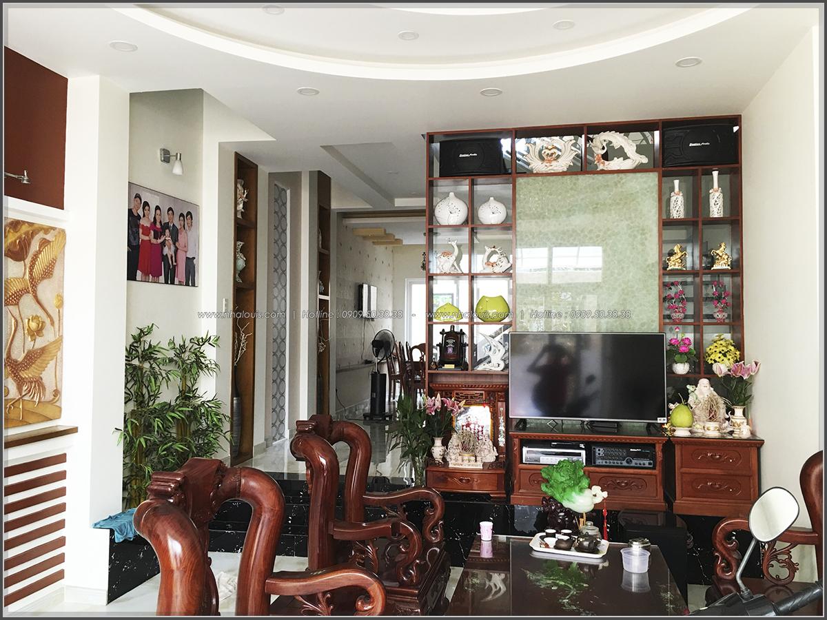 Thi công nhà ống mặt tiền 5m bán cổ điển Quận Bình Tân đẹp ngỡ ngàng - 03