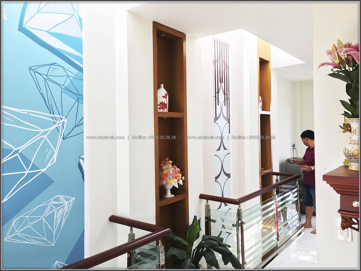 Thi công nhà ống mặt tiền 5m bán cổ điển Quận Bình Tân đẹp ngỡ ngàng - 13