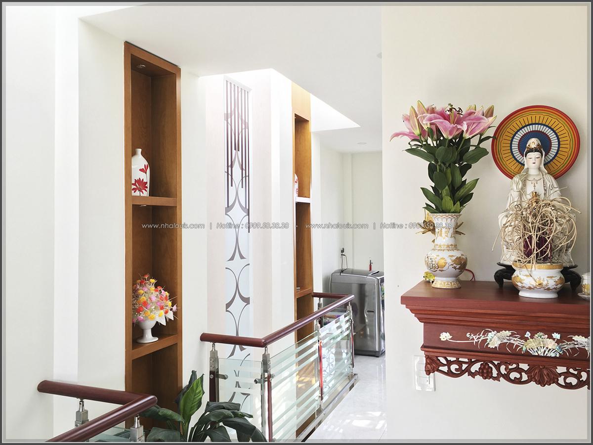 Thi công nhà ống mặt tiền 5m bán cổ điển Quận Bình Tân đẹp ngỡ ngàng - 14