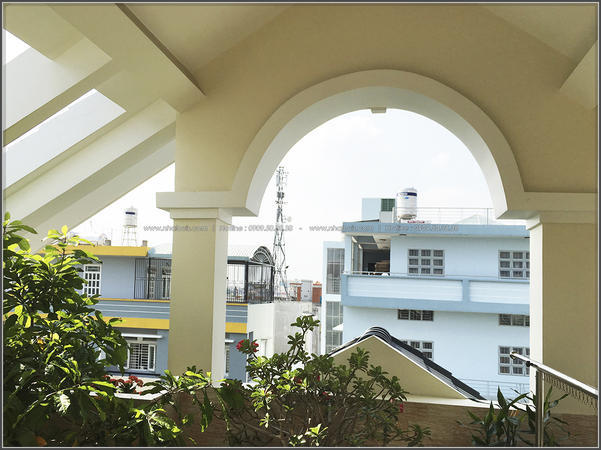 Thi công nhà ống mặt tiền 5m bán cổ điển Quận Bình Tân đẹp ngỡ ngàng - 16