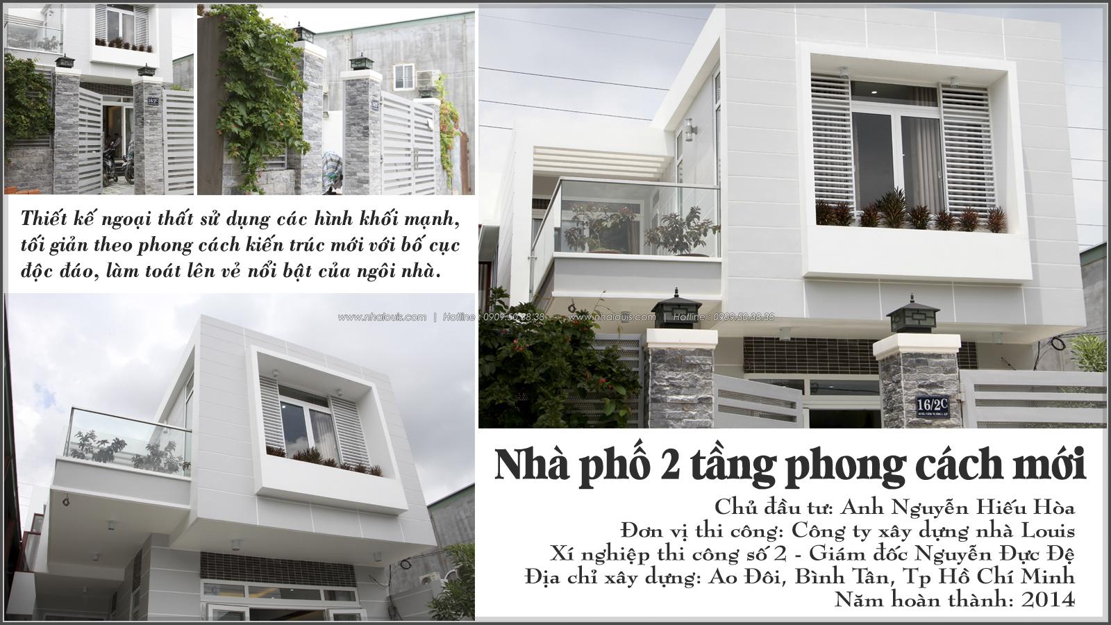 Thi công xây dựng nhà phố 1 trệt 1 lầu quận Bình Tân - 01