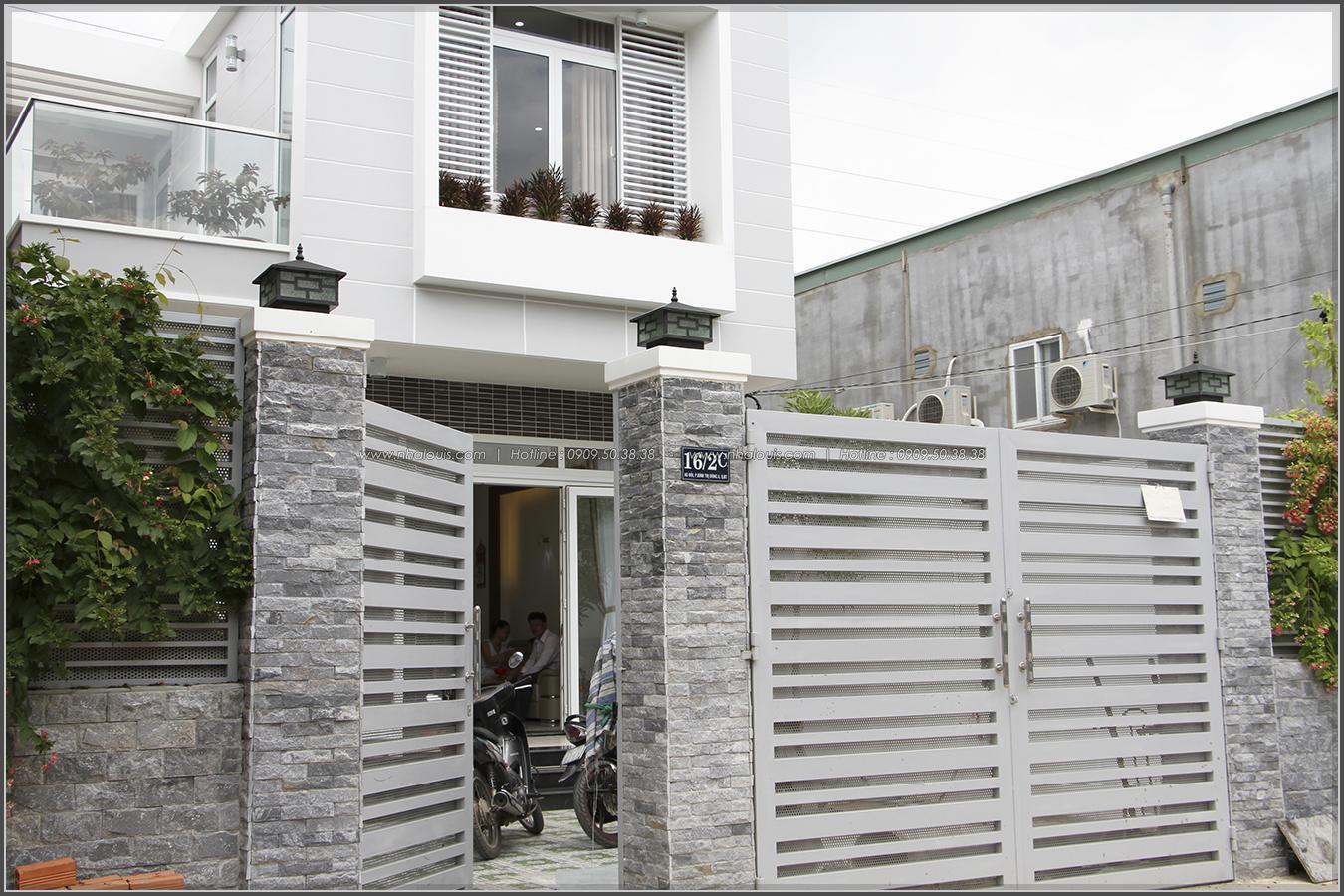 Thi công xây dựng nhà phố 1 trệt 1 lầu quận Bình Tân - 04