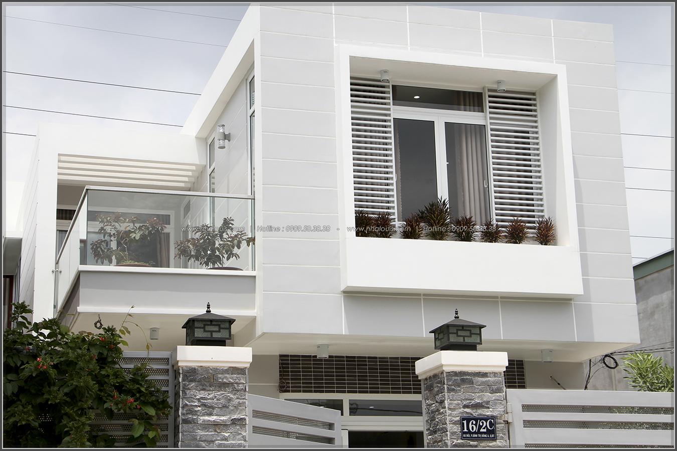 Thi công xây dựng nhà phố 1 trệt 1 lầu quận Bình Tân - 05
