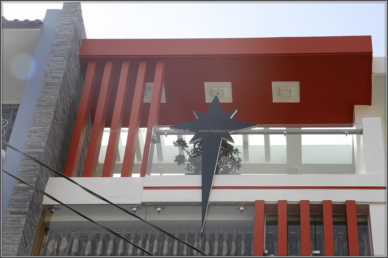 Thi công xây dựng nhà phố 1 trệt 2 lầu phong cách hiện đại ở Tân Phú - 03