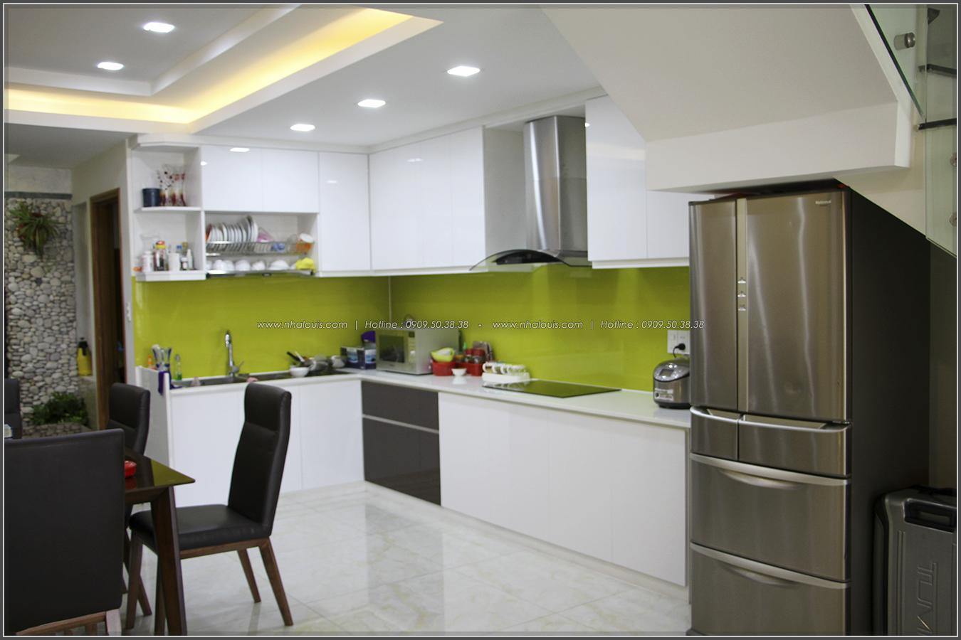 Thi công xây dựng nhà phố 1 trệt 2 lầu phong cách hiện đại ở Tân Phú - 07