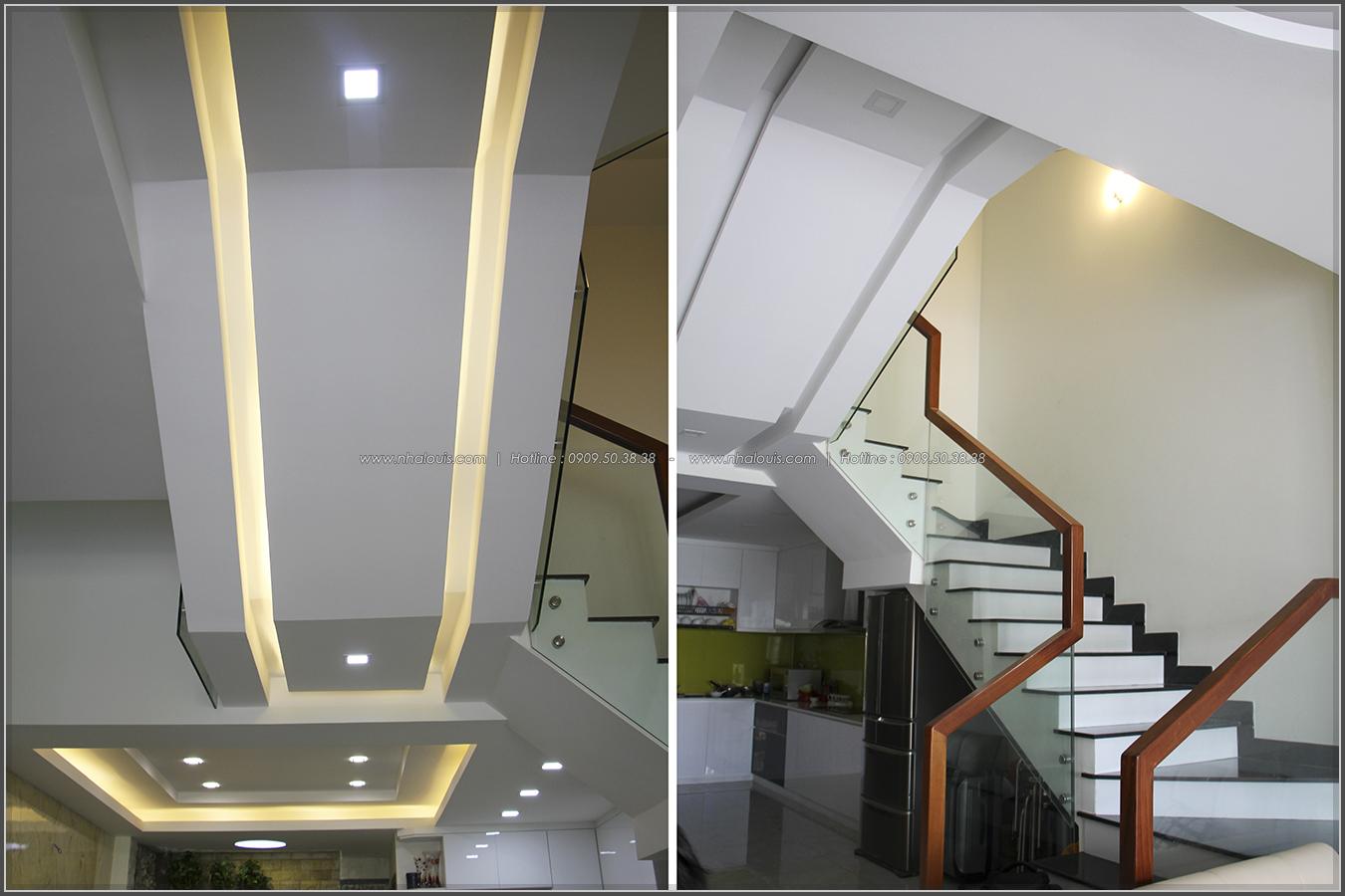 Thi công xây dựng nhà phố 1 trệt 2 lầu phong cách hiện đại ở Tân Phú - 15