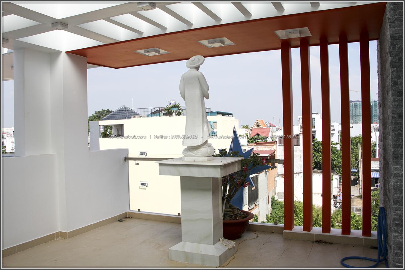 Thi công xây dựng nhà phố 1 trệt 2 lầu phong cách hiện đại ở Tân Phú - 30