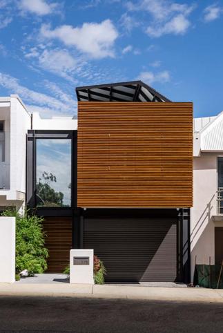 Thiết kế mẫu nhà phố 2 tầng có sân vườn đẹp hiện đại và tinh tế - 01