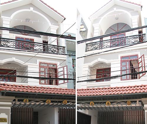 Thi công xây dựng nhà phố 3 tầng hiện đại cực chất tại quận Tân Bình