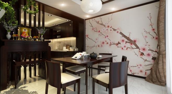 Nhà phố 3 tầng kiểu Nhật tạo ấn tượng với phong cách hiện đại - 03
