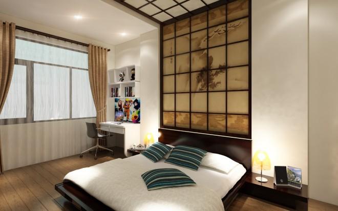 Nhà phố 3 tầng kiểu Nhật tạo ấn tượng với phong cách hiện đại - 05