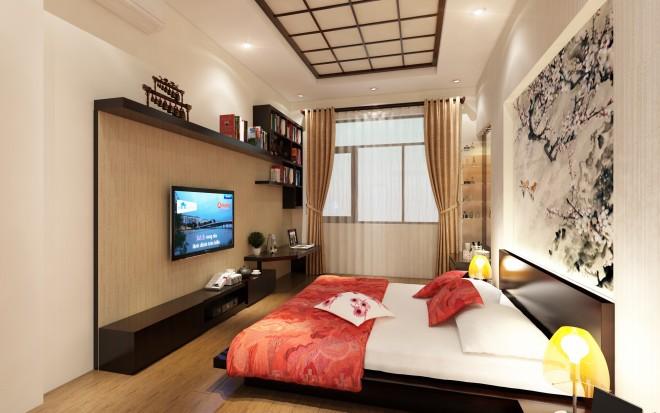 Nhà phố 3 tầng kiểu Nhật tạo ấn tượng với phong cách hiện đại - 06