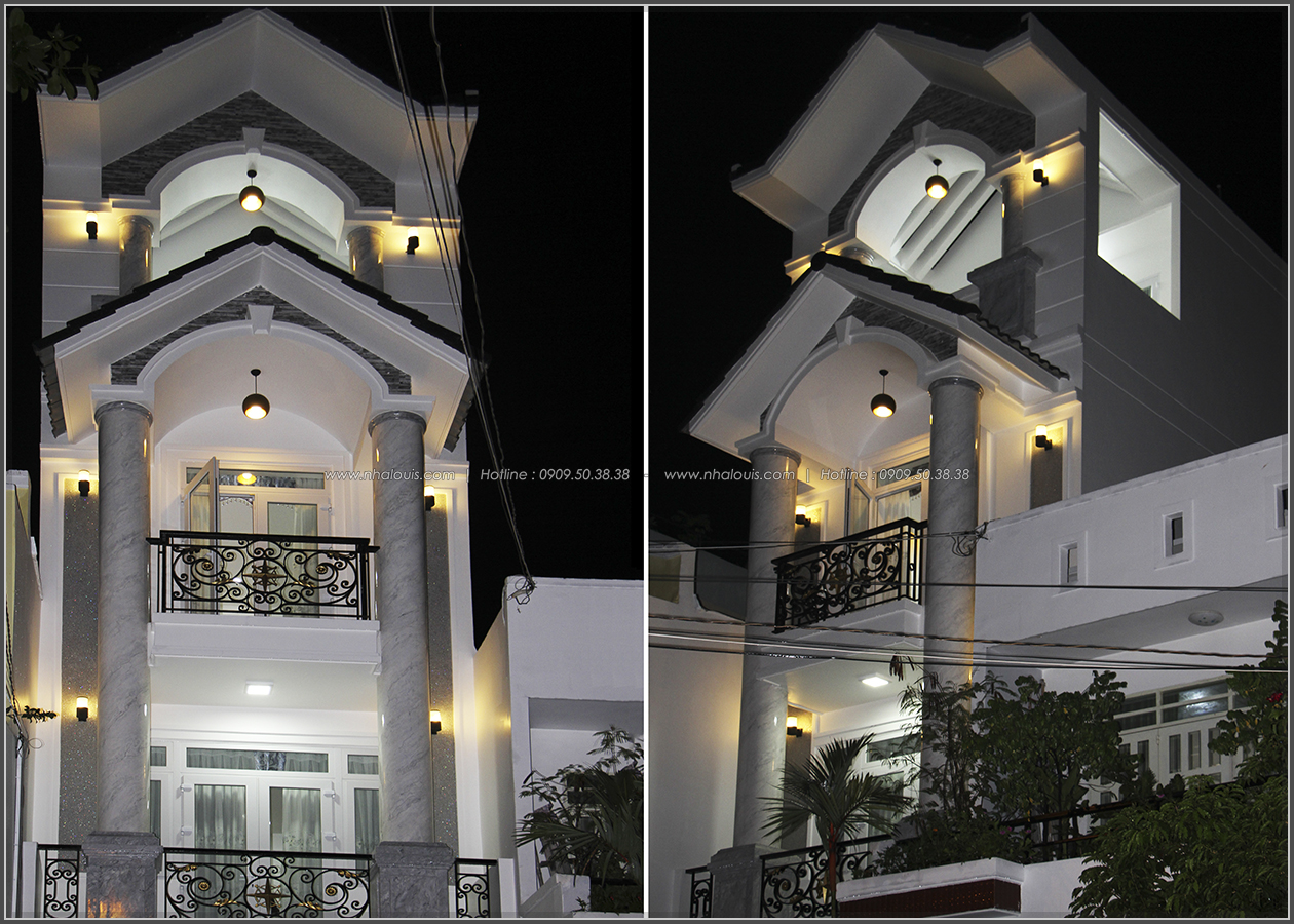 Thi công xây dựng nhà phố bán cổ điển mặt tiền 4m tại Quận Tân Phú - 03