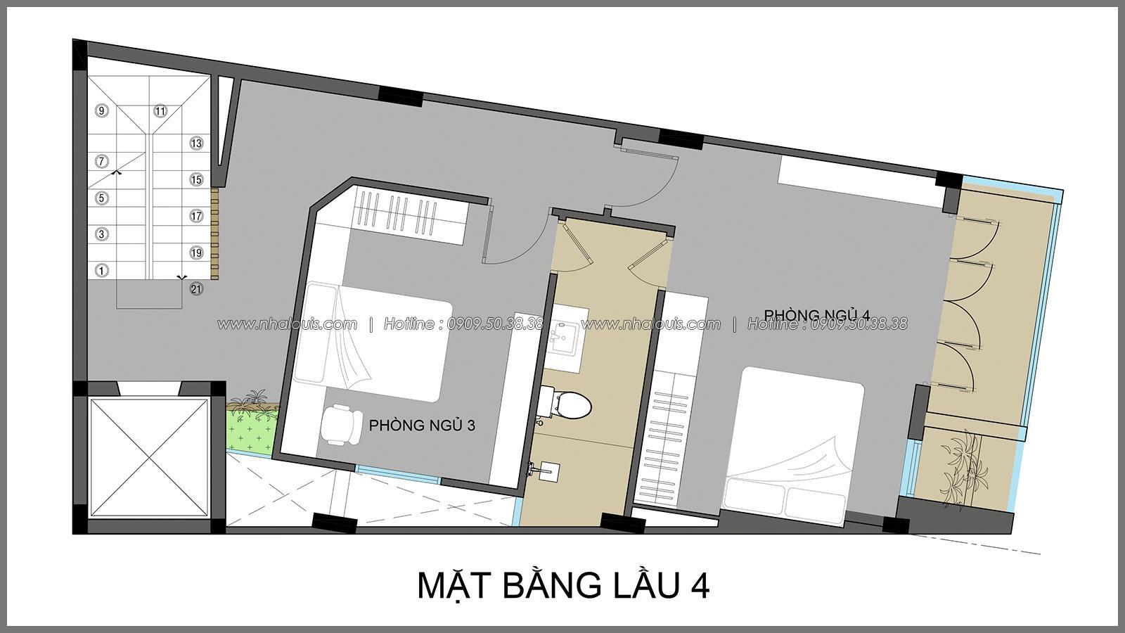 Thi công xây dựng nhà phố 5 tầng kết hợp văn phòng cho thuê ở Quận 1 - 06