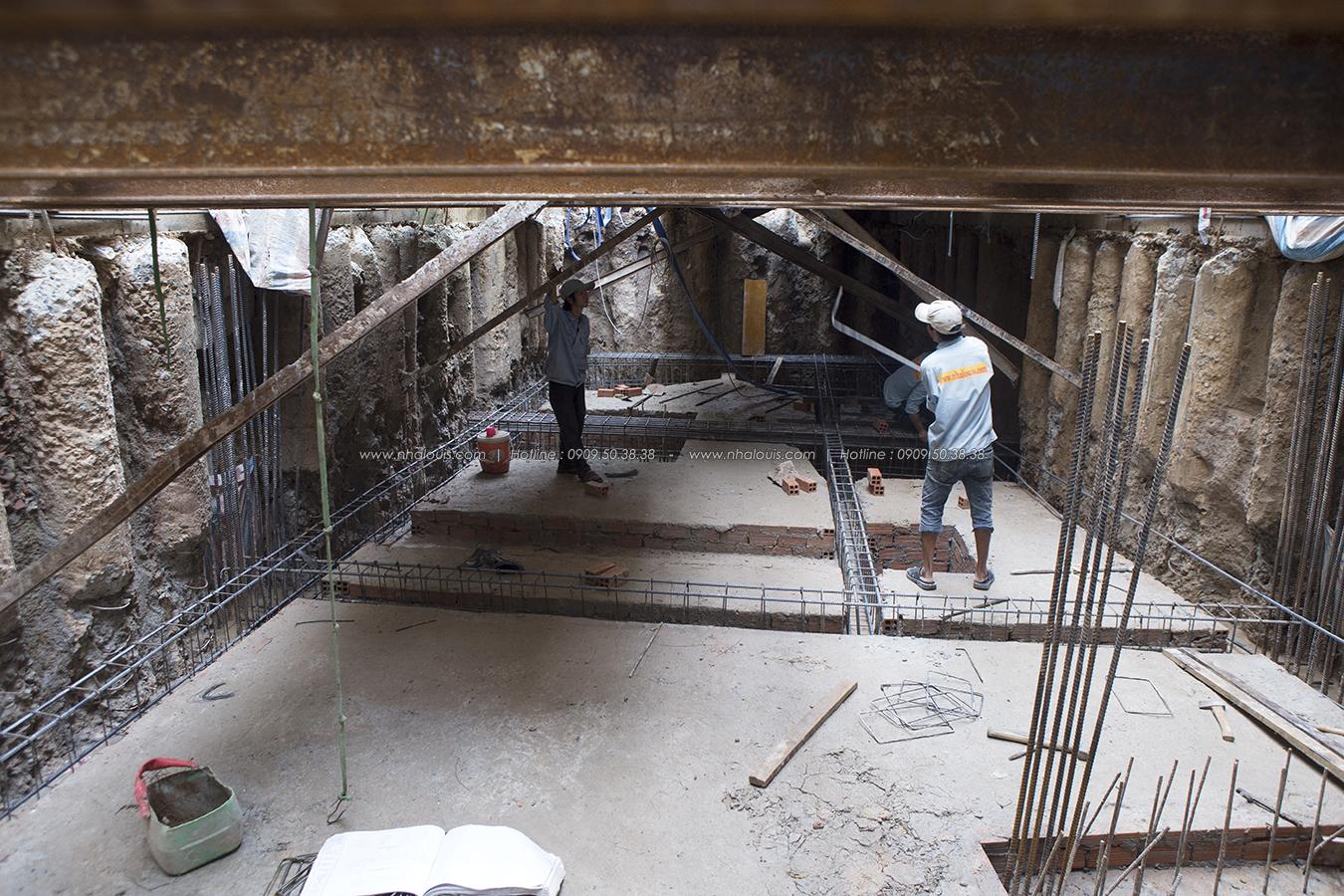 Thi công xây dựng nhà phố 5 tầng kết hợp văn phòng cho thuê ở Quận 1 - 23