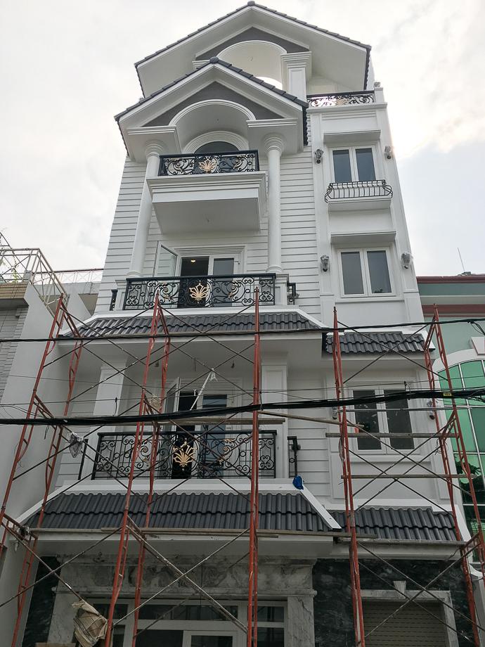 Nhận thầu thi công xây dựng ở thành phố Hồ Chí Minh
