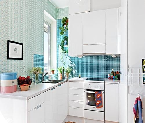 Những mẫu phòng bếp đẹp gần gũi với thiên nhiên