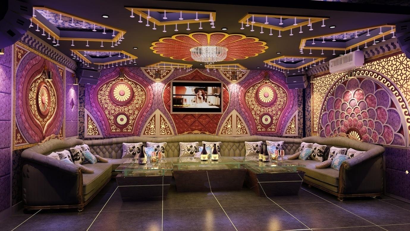 Những mẫu phòng karaoke vip mang phong cách cổ điển