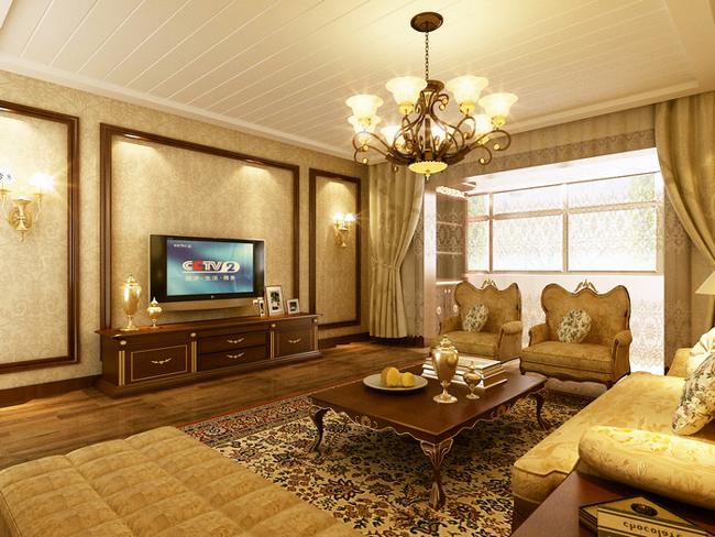 Những mẫu phòng khách đẹp theo phong cách cổ điển