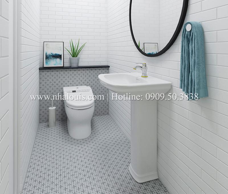 Những mẫu WC cực tiện nghi dù chưa đầy 10m2