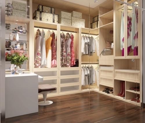 Những phòng thay đồ đẹp khiến các cô nàng mê mẩn