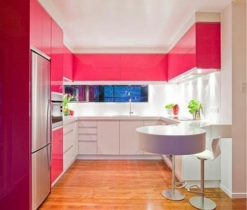 Những sắc màu độc đáo cho thiết kế phòng bếp hiện đại