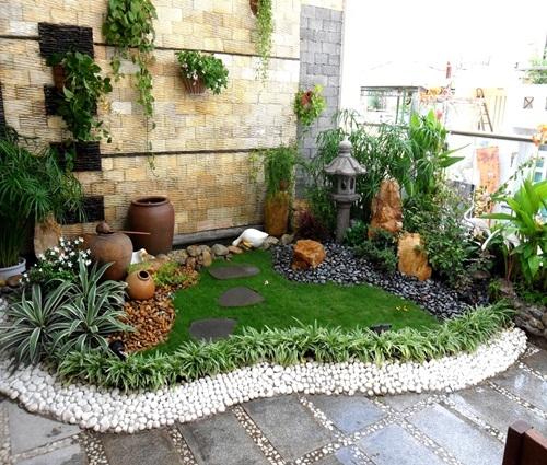 Những ý tưởng thiết kế tiểu cảnh cho sân vườn nhà bạn