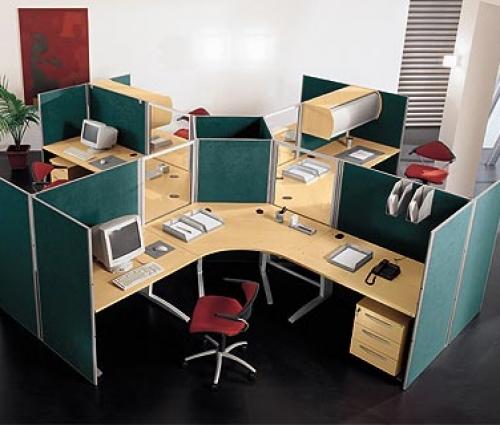 Nội thất cho văn phòng hẹp nhưng không kém sang trọng và ấn tượng