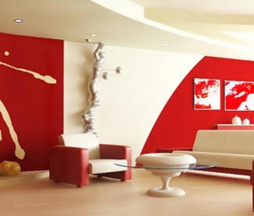 Thiết kế nội thất văn phòng màu đỏ cho vượng khí lan tỏa