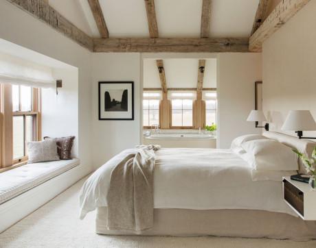 Phong cách Rustic đẹp ngỡ ngàng dành cho phòng ngủ