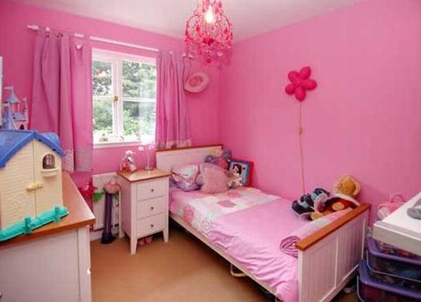Phòng ngủ đẹp mê ly dành cho bé gái