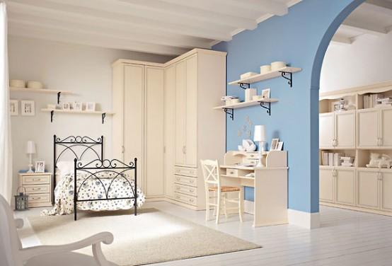 Phòng ngủ trẻ em phong cách cổ điển