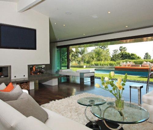 Phòng sinh hoạt chung lớn đẹp mê ly dành cho các biệt thự, penthouse