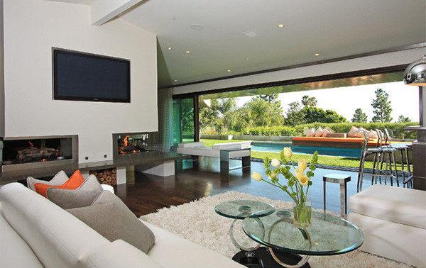 Phòng sinh hoạt chung lớn đẹp mê ly dành cho các biệt thự, penthouse - 01