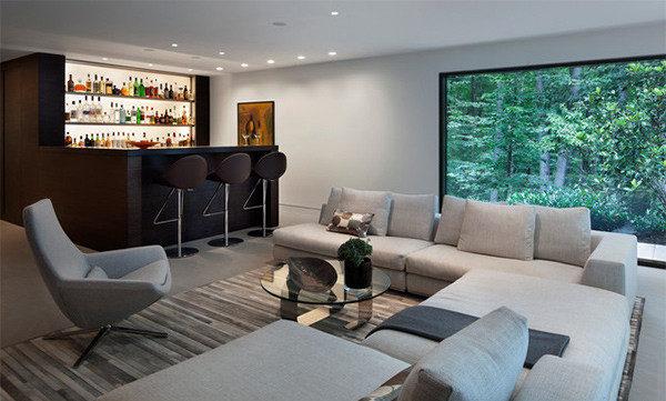 Phòng sinh hoạt chung lớn đẹp mê ly dành cho các biệt thự, penthouse - 03