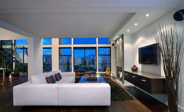 Phòng sinh hoạt chung lớn đẹp mê ly dành cho các biệt thự, penthouse - 04