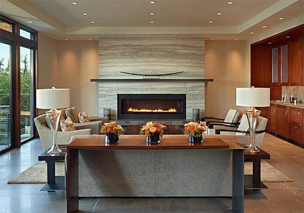 Phòng sinh hoạt chung lớn đẹp mê ly dành cho các biệt thự, penthouse - 05