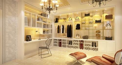 Phòng thay đồ nữ đẹp dành cho quý cô điệu đà