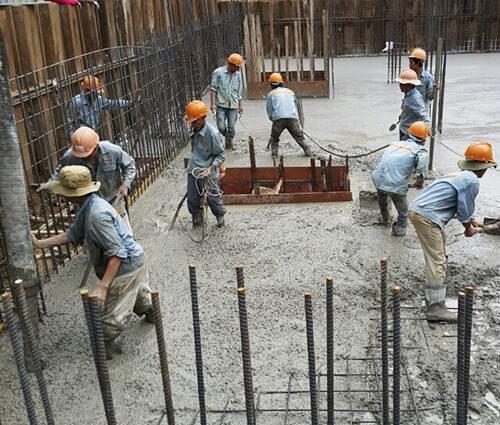 Quy trình thi công xây dựng nhà ở, biệt thự kiên cố