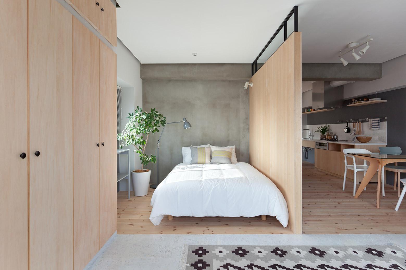 Thăm căn hộ 59 m2 có tới 3 phòng ngủ