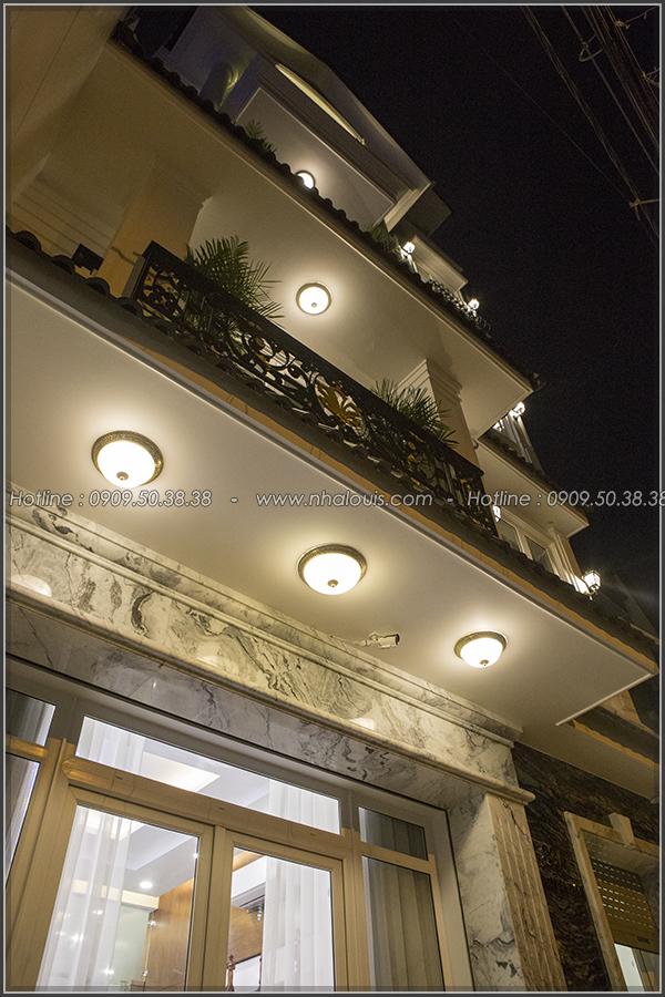 Thi công xây dựng biệt thự mặt tiền tân cổ điển cao 4 tầng tại Tân Phú - 03